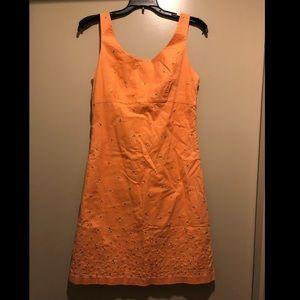 J. Crew Sleeveless Embroidered Dress